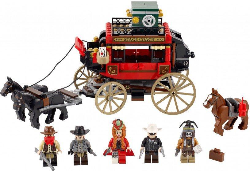 LEGO The Lone Ranger Postkoets Ontsnapping 79108