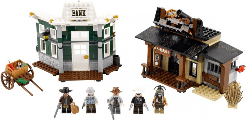 LEGO The Lone Ranger Colby City Duel 79109