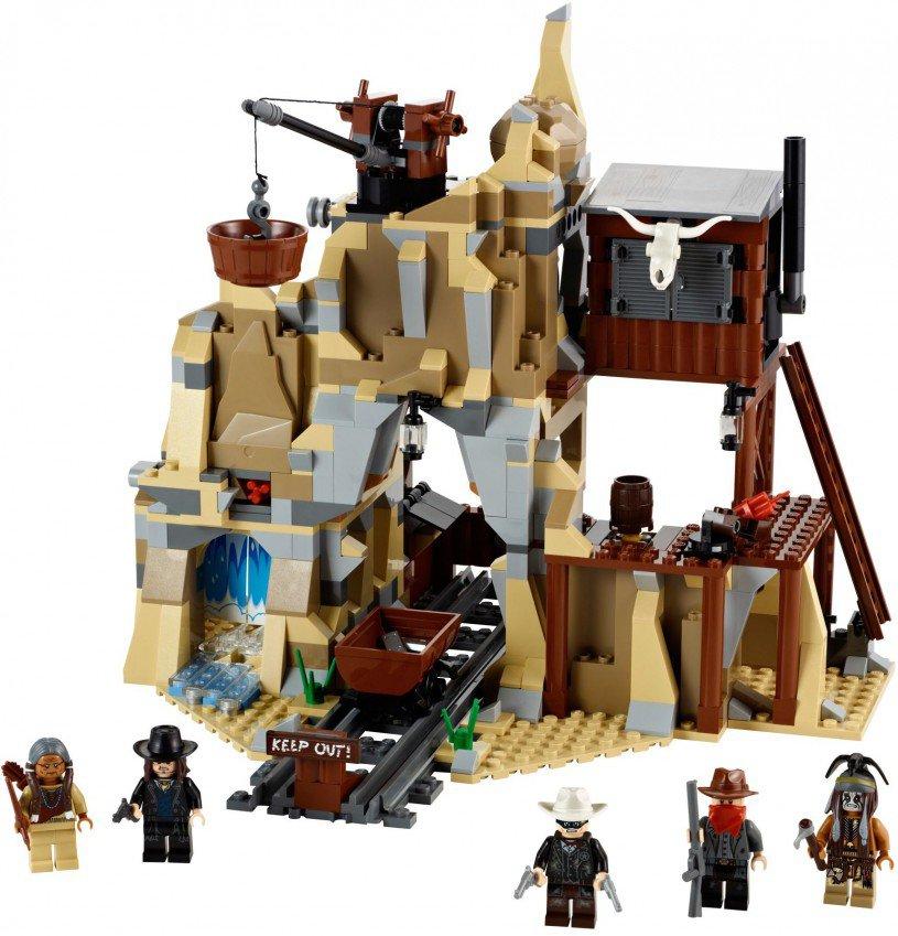 LEGO The Lone Ranger Zilvermijn Vuurgevecht 79110