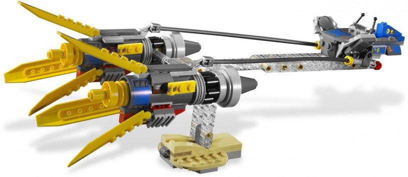 LEGO Star Wars Anakin Skywalker and Sebulba's Podracers 7962