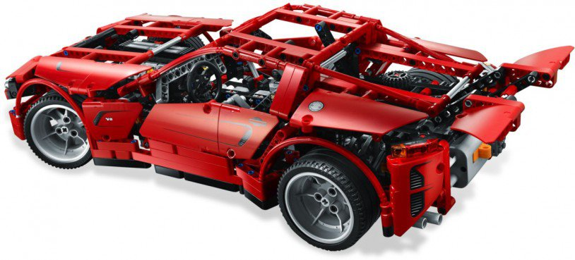 LEGO Technic - Super Car 8070