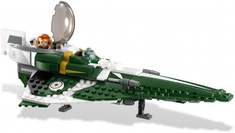 LEGO Star Wars Saesee Tiin's Jedi Starfighter 9498