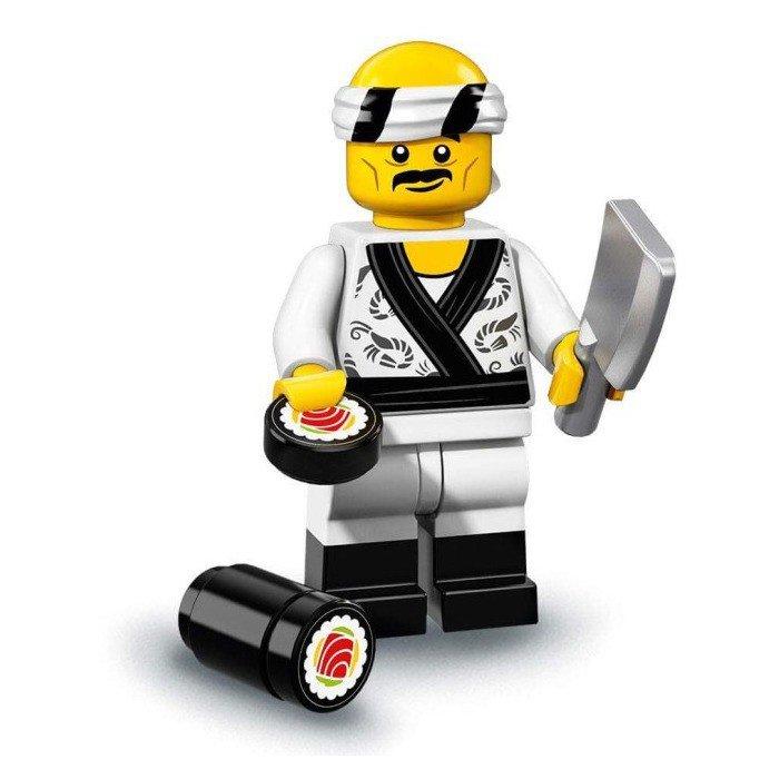 LEGO 71019 Minifiguren: Sushi Chef