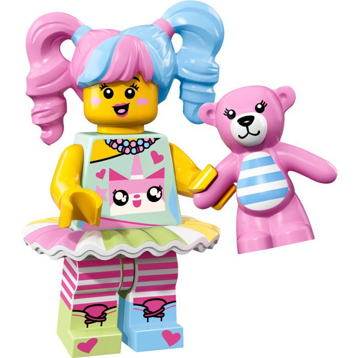 LEGO 71019 Minifiguren: N-POP Girl