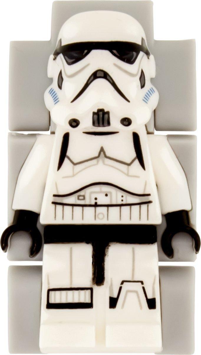LEGO Horloge: Stormtrooper minifigure Kinderhorloge