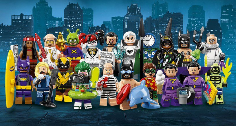 LEGO 71020 Batman Minifiguren: Vakantie The Joker