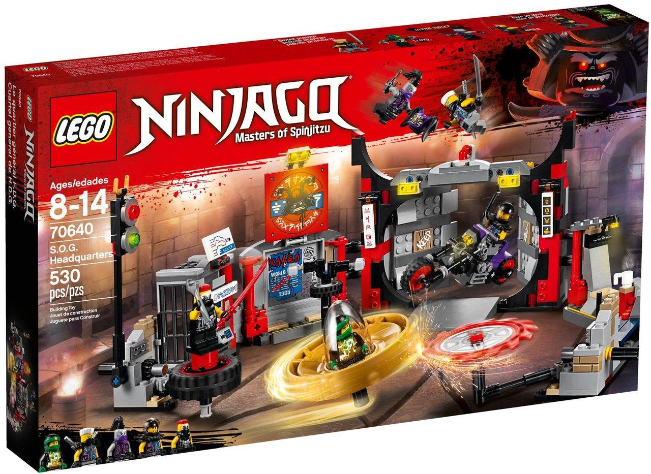 Spiksplinternieuw LEGO Ninjago 70640 kopen: S.O.G. hoofdkwartier NI-89