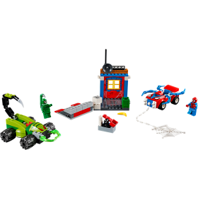 LEGO 10754 Juniors: Spider-Man vs. Scorpion straatduel