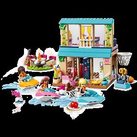 LEGO 10763 Friends: Stephanie`s huisje aan het meer
