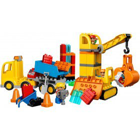 LEGO 10813 Duplo: Grote bouwplaats
