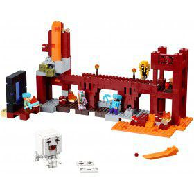 LEGO Minecraft Het Netherfort 21122