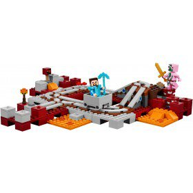 LEGO 21130 Minecraft De Nether spoorweg