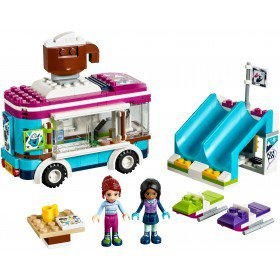 LEGO 41319 Friends: Wintersport koek-en-zopiewagen