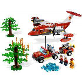 LEGO City - Brandweer blusvliegtuig 4209