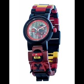LEGO Horloge: Kai Minifiguur Kinderhorloge