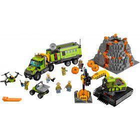 LEGO 60124 Vulkaan Onderzoeksbasis