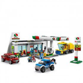 LEGO City Benzinestation 60132