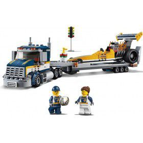 LEGO 60151 City Dragster transportvoertuig