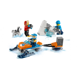 LEGO 60191 City: Poolonderzoekersteam