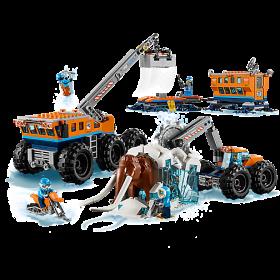 LEGO 60195 City: Mobiele onderzoeksbasis op de Noordpool