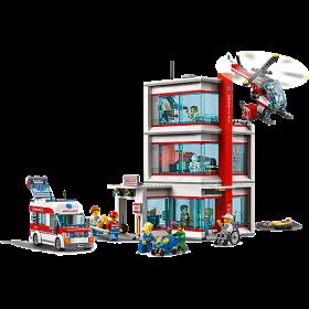 LEGO 60204 City: ziekenhuis