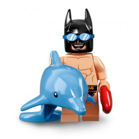 LEGO 71020 Batman Minifiguren: Zwempak Batman