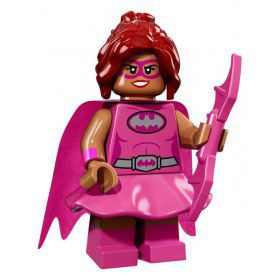 LEGO BATMAN Minifiguren Pink Power Batgirl