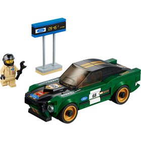 LEGO 75884 Speed Champions: 1968 Ford Mustang Fastback