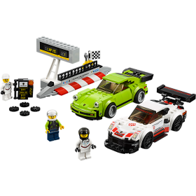 LEGO 75888 Speed Champions: Porsche 911 RSR en 911 Turbo 3.0