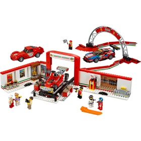 LEGO 75889 Speed Champions: Ultieme Ferrari garage