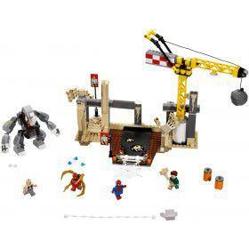 LEGO Super Heroes Rhino en Sandman Superschurk Samenwerking 76037