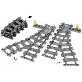 LEGO City - Trein RC Wissels en bochten 7895