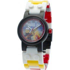 LEGO Horloge: City Brandweerman Kinderhorloge