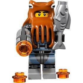 LEGO 71019 Minifiguren: Shark Army Octopus