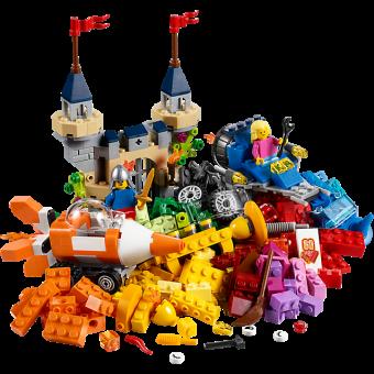 LEGO 10404 Classic: De bodem van de oceaan