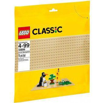 LEGO Classic - Zandkleurige LEGO Grondplaat 32 x 32 10699