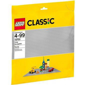 LEGO Grijze Bouwplaat 48 x 48 10701