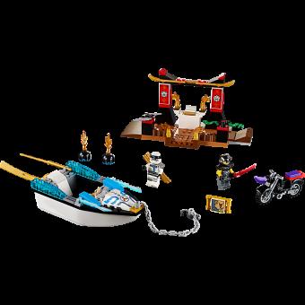 LEGO 10755 Ninjago: Zane`s ninjabootachtervolging