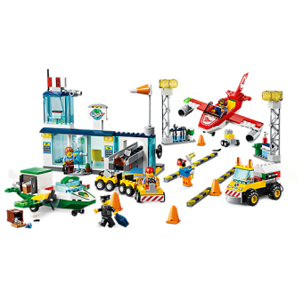 LEGO 10764 Juniors:  Central luchthaven