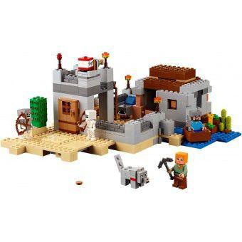 LEGO 21121 Minecraft Woestijn Uitkijkpost
