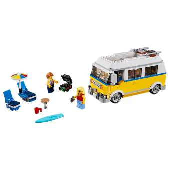 LEGO 31079 Creator: Zonnig surferbusje