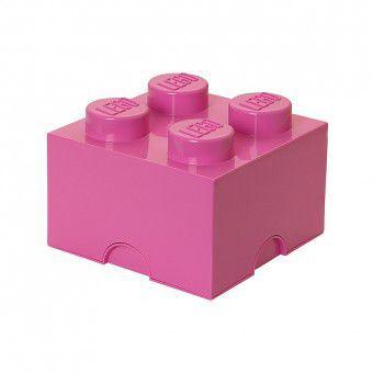 LEGO Opbergen - Lego Opbergbox roze - Brick 4