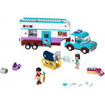 LEGO Friends Paardendokter Trailer 41125