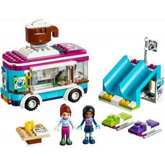 LEGO 41319 Friends: Wintersport koek-en-zopiewagen