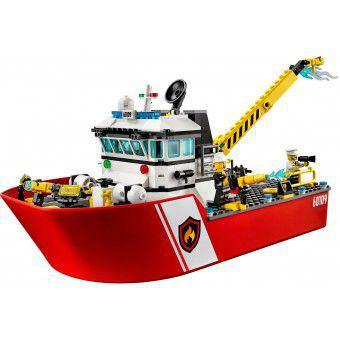 LEGO 60109 : Brandweerboot