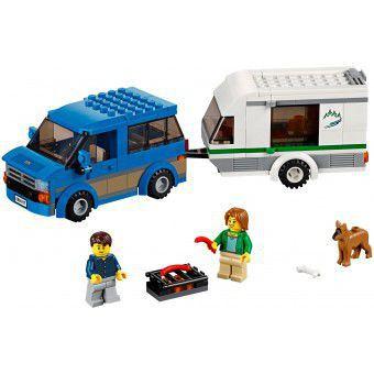 Busje met Caravan 60117