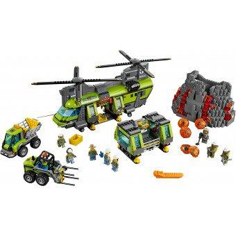 LEGO 60125  Vulkaan zware vrachthelikopter