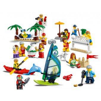 LEGO 60153 : Personenset – plezier aan het strand