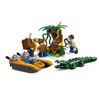 LEGO 60157 : Jungle startset