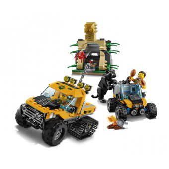 LEGO 60159 : Jungle missie met halfrupsvoertuig